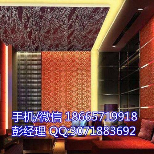软包吸音板KTV专用吸音板KTV皮革软包吸音材料