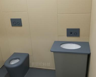 纪委谈话室软包马桶硅胶防撞马桶落地式座便器