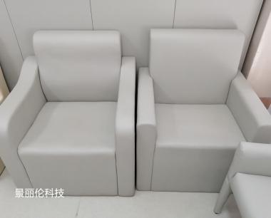 纪委审讯室软包桌椅 谈话室防撞软包桌椅