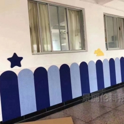 幼儿园防撞软板聚酯纤维材料