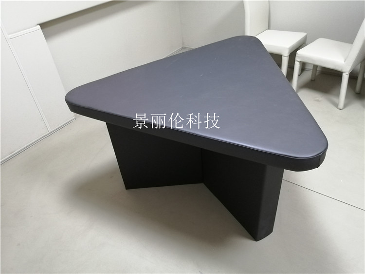广州审讯桌 谈话室软包桌椅厂家定制