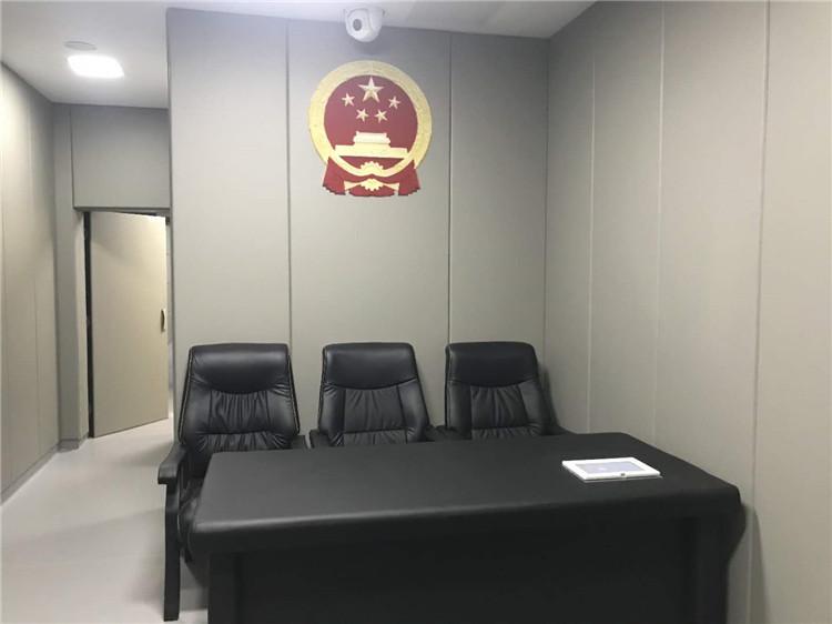 检察院候问室墙面软包